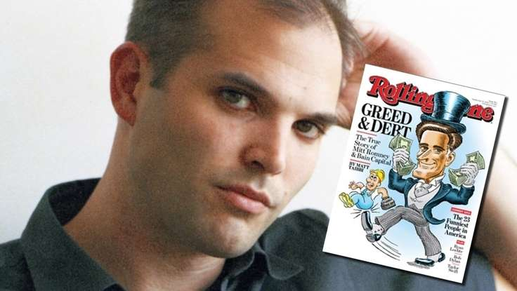 Greed and Debt: Matt Taibbi's 6,000-Word <em>Rolling Stone</em> Cover Story on Mitt Romney